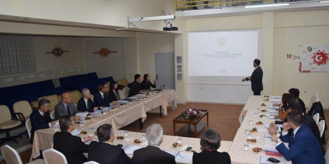 Edirne'de Çocuk Koordinasyon Kurulu toplantısı yapıldı