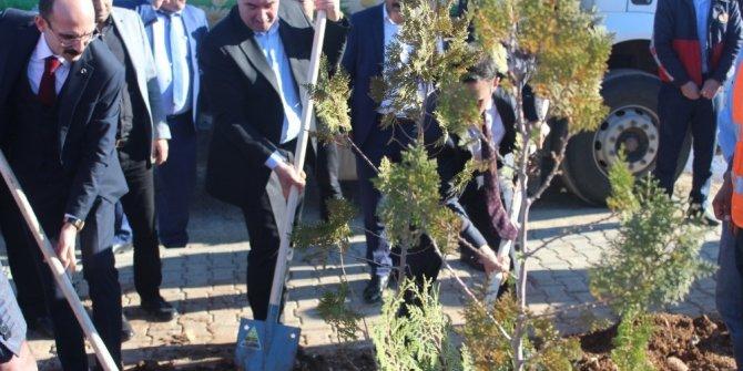 """Başkan Turanlı: """"Hep birlikte daha yeşil bir Kahta için"""""""