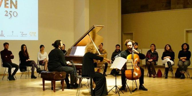 Kapadokya Üniversitesinde Beethoven rüzgarı esti