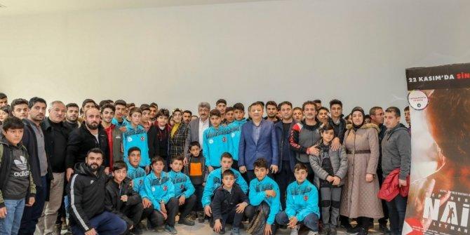 Van Büyükşehir, haltercilere Naim Süleymanoğlu'nun filmini izletti