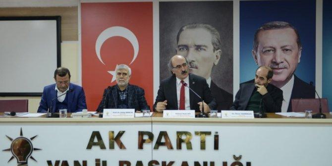 AK Parti Van il başkanlığından manevi değerler eğitim programı