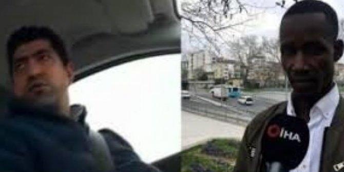 Senegalli yolcuya 'terörist misin' diyen taksici için karar verildi