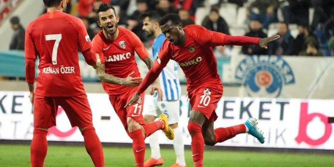 Gaziantep Kasımpaşa'yı mağlup etti