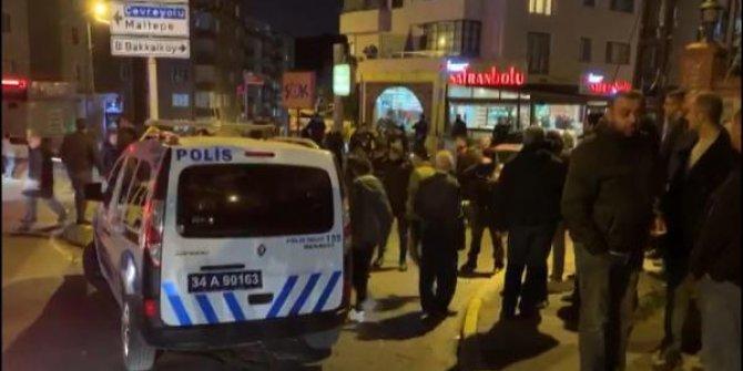 Maltepe'de otomobil kurşun yağmuruna tutuldu: 2 yaralı
