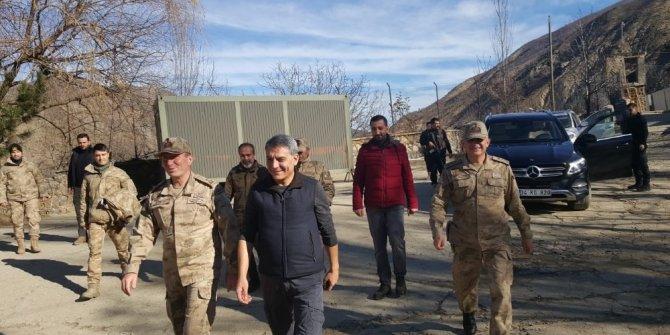 Kaymakam Özkan'dan operasyon birliklerine ziyaret