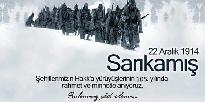 Aydın MHP, Sarıkamış şehitlerini unutmadı