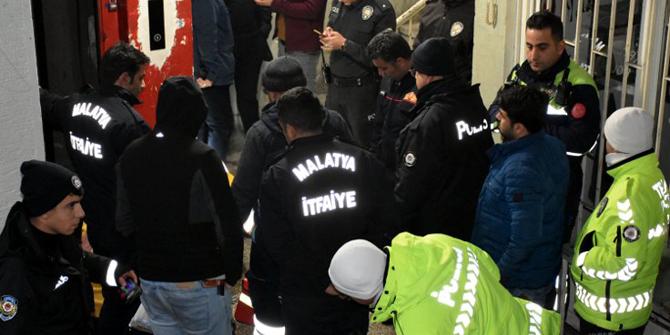 Malatya'da asansör kabininin üzerine düşen kişi öldü