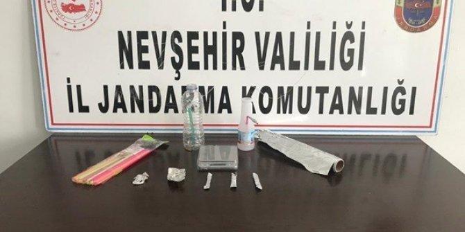 Nevşehir'de uyuşturucudan 4 kişi gözaltına alındı