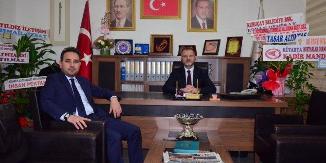 Milletvekili Gazel'den Başkan Ceyhun'a tebrik ziyareti