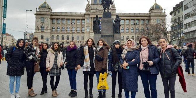 Oltulu öğrenciler Viyana'da staj gördü