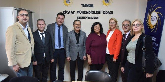 Başkan Ataç ziraat mühendisleri ile buluştu