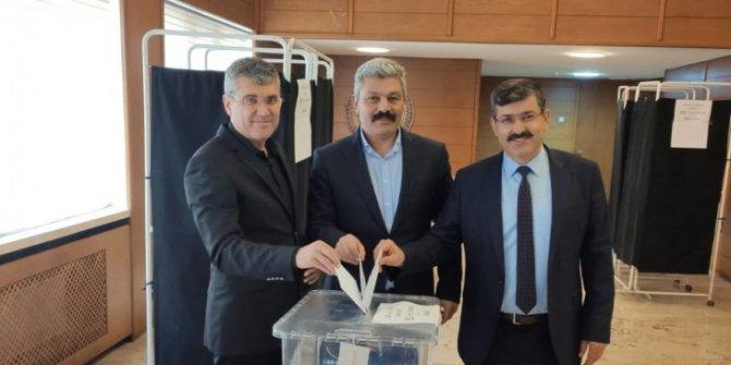 Konya Ziraat Mühendisleri Odası'nın yeni başkanı Murat Akbulut oldu