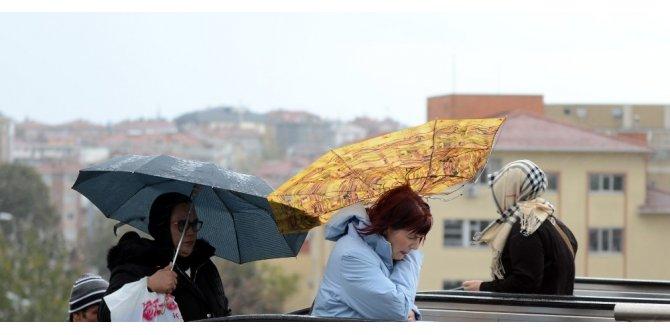 Bayburt'ta fırtına bekleniyor