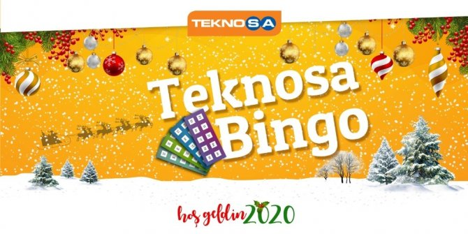 Teknosa'dan Bingo yarışması
