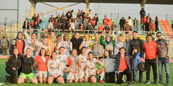 Gaziantep Alg Spor kazanmaya devam ediyor