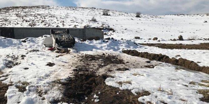 Bingöl'de trafik kazası:3 yaralı