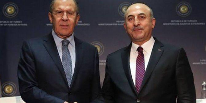 Bakan Çavuşoğlu ile Lavrov arasında kritik görüşme