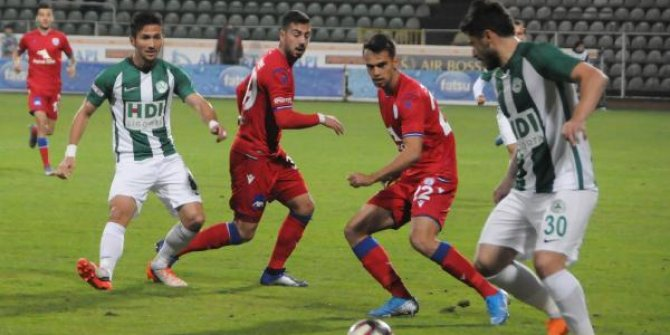 Giresunspor - Altınordu: 1-1