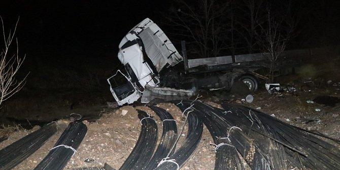 Çankırı'da 2 tır çarpıştı: 2 ölü, 2 yaralı