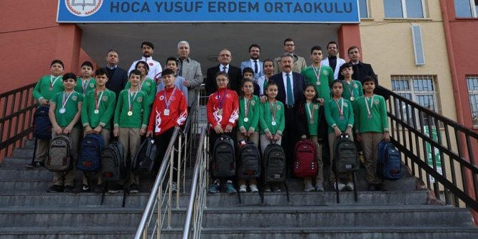 Başkan Palancıoğlu, başarılı sporcuları tebrik etti