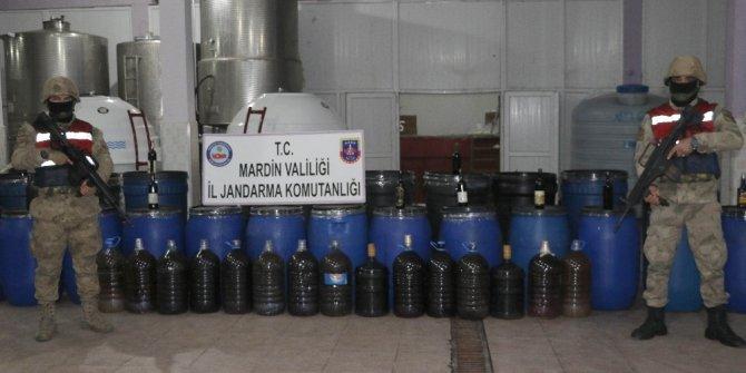 Yılbaşı öncesi 117 ton sahte içki ele geçirildi