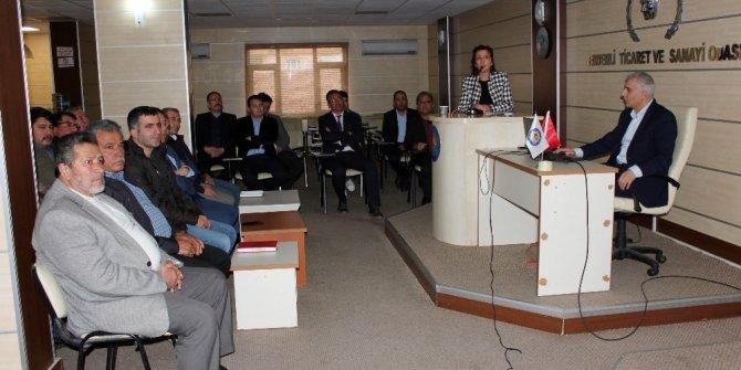 Erdemli'de işletmelere yönelik gıda etiketi bilgilendirmesi