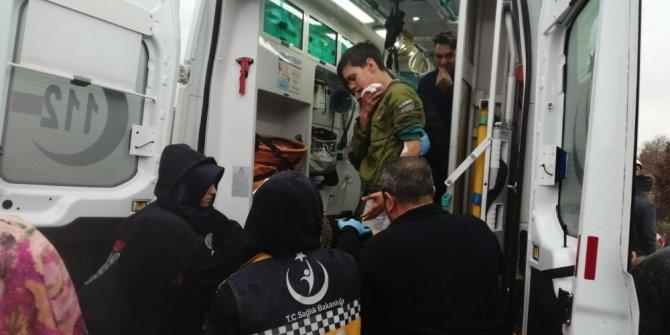 Çekmeköy'de İETT otobüsü yan yattı: 1'i ağır 12 yaralı