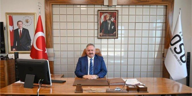 Kayseri OSB Başkanı Nursaçan'dan 2019 yılı değerlendirmesi