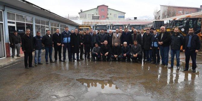 Muş Belediyesi karla mücadeleye hazır