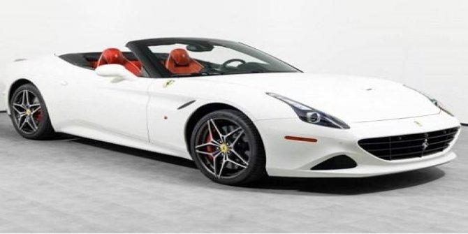 İcradan satılık üstü açılır Ferrari
