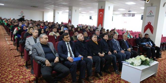 Karaköprü Belediyesi personeline psikolojik şiddete farkındalık eğitimi