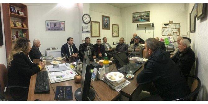 AFAD İl Müdürlüğü'nden çiftçi kooperatiflerine ziyaret