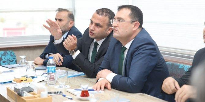 Mesire alanı yatırımları ile ilgili projeler masaya yatırıldı