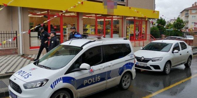Ümraniye'de markette silahlı soygun