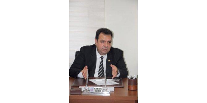 """ASKF Başkanı Bozan: """"İlk yarı maçları çekişmeli geçti"""""""