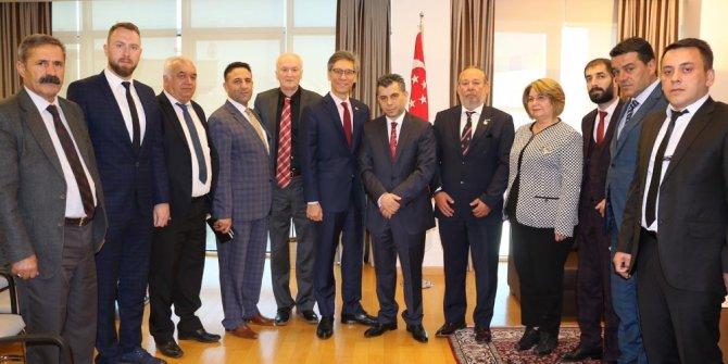 Büyükelçisi Tow, SANKON aracılığı ile yatırımcı çağrısında bulundu
