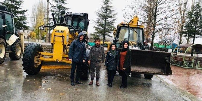 Yalıhüyük Belediyesi karla mücadeleye hazır