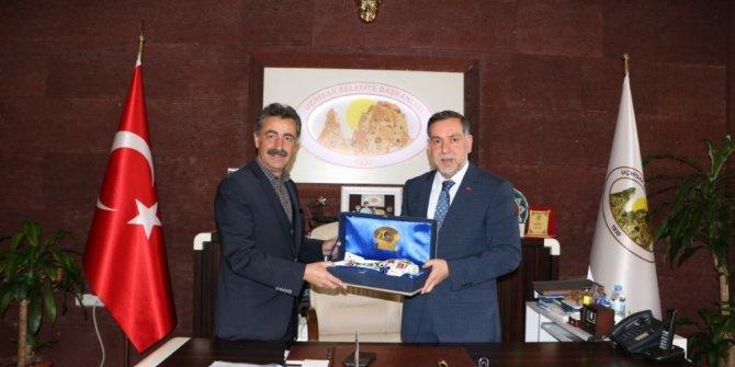 Yerel Yönetimler Başkan Yardımcısı Zenbilci, Uçhisar Belediye Başkanı Süslü'yü ziyaret etti