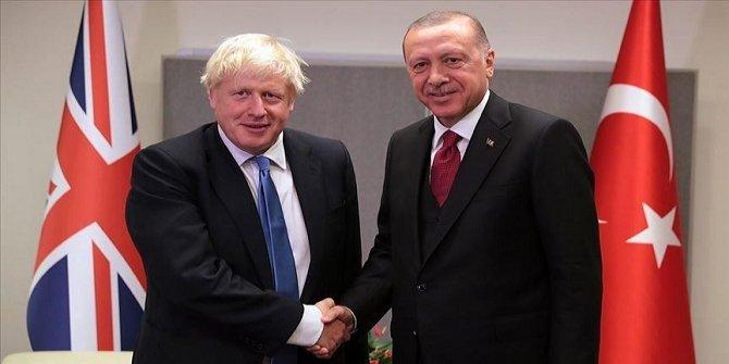 Erdogan et Johnson discutent sur la situation en Libye et en Syrie