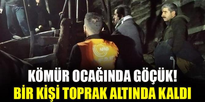 Şırnak'ta ruhsatsız kömür ocağında göçük: Bir kişi toprak altında kaldı
