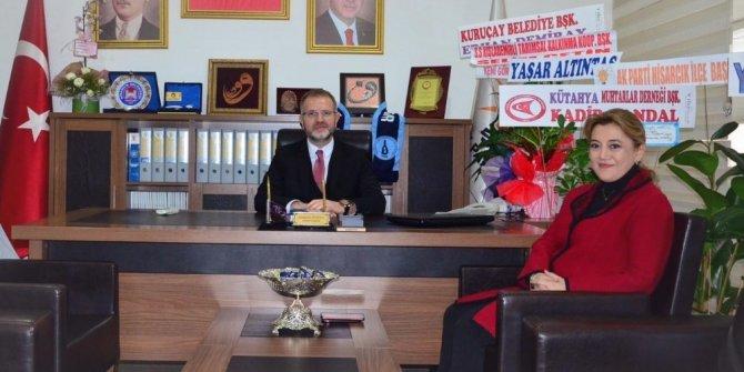 Milletvekili Ceyda Çetin Erenler'den Başkan Ceyhun'a tebrik ziyareti