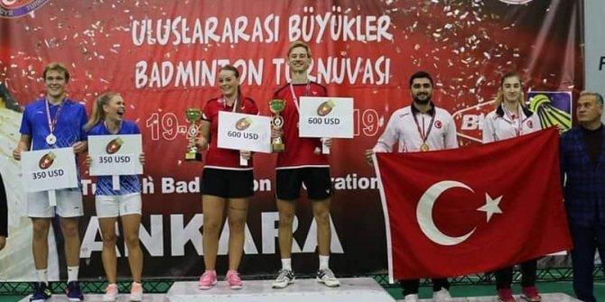 Erzincanlı Milli badmintoncuların uluslararası başarıları devam ediyor