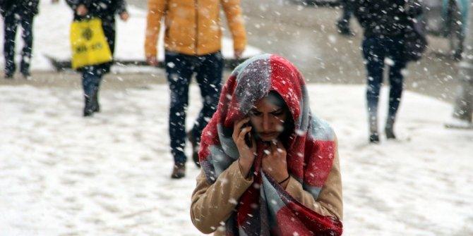 Erzincan'da yüksek kesimlerde kar yağışı bekleniyor