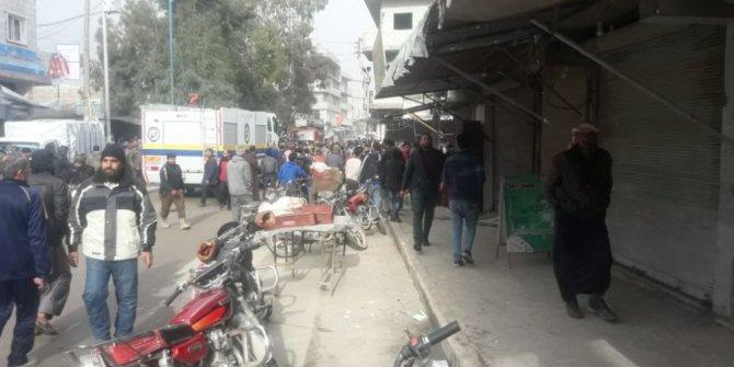 Cerablus'ta pazar yerinde bombalı saldırı: en az 5 yaralı