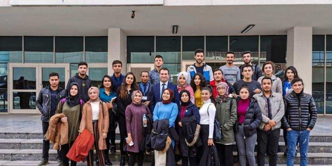Oğuzeli MYO öğrencilerinden SGK'ya gezi