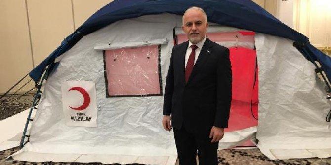 Türk Kızılay'ıyeni çadırını tanıttı