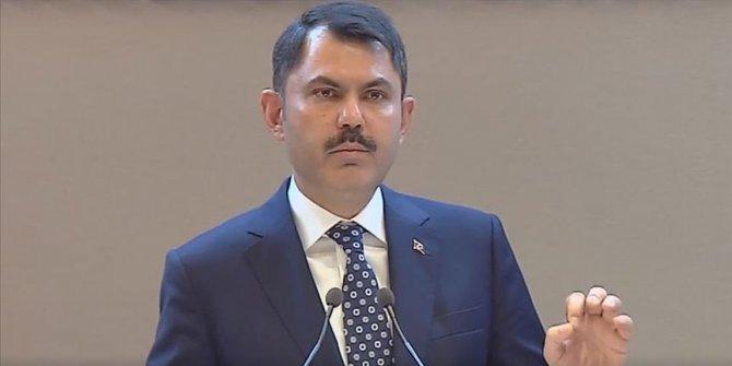 """Çevre ve Şehircilik Bakanı Kurum: """"62 bin konut tek tek girildi"""""""