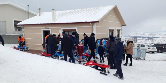 Derbent-Aladağ Kayak Merkezinde sezon açıldı
