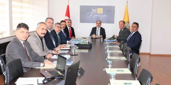 Başkan Oprukçu ile Başkan Altay Ereğli'yi konuştu