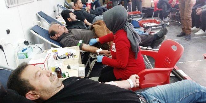 Kulu'da kan alımına başladı